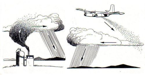 cloud seeding